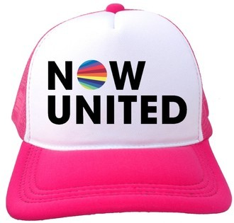 Boné Trucker Now United