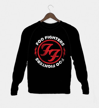 Manga Longa Rock Foo Fighters Feminina