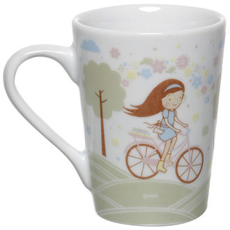 Caneca Bike Girl C09