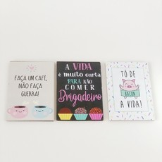 Placas Decorativas - com imã