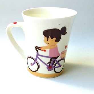 Caneca Love Bike Girl C06