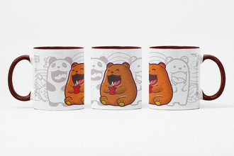 Caneca Brown Bear