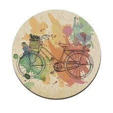 Placa Redonda bike Decor H24