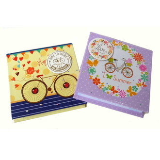 Kit Note Pad Bikes SY05