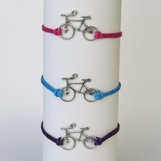 Pulseira bike charm colour PA21