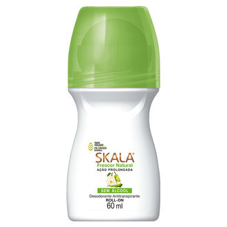 Desodorante Roll-on Frescor Natural (60ml) - Skala