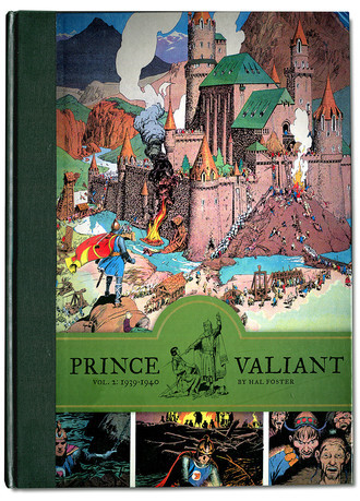 Prince Valiant by Hal Foster - Vol. 2: 1939/40 - Fantagraphics
