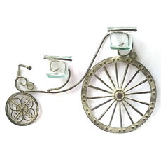 Bike Decorativa com Vasinhos M27
