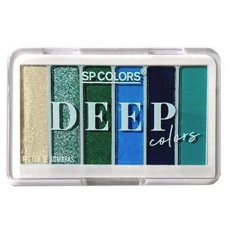 Mini Paleta de Sombras Deep Colors Modelo B SP Colors