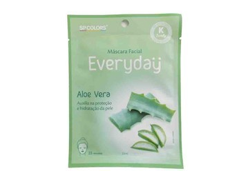 MASCARA FACIAL EVERYDAY - SPCOLORS - ALOE VERA