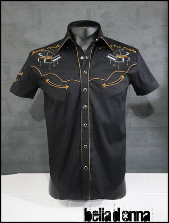 Camisa western Jerry Lee