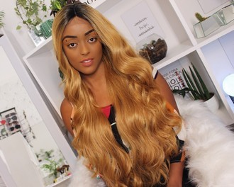 Lace Front wig swiss premium - Naia