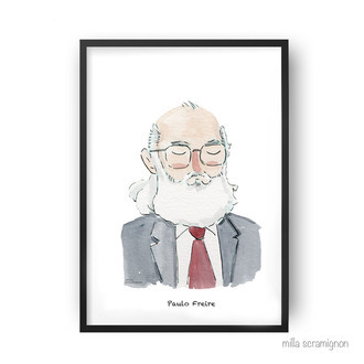 Pôster Paulo Freire