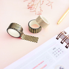 Washi Tape Geométricas Gold