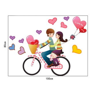 Wall Decor Bike Love SY40