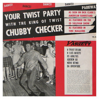Chubby Checker - Your Twist Party LP (original/MONO)