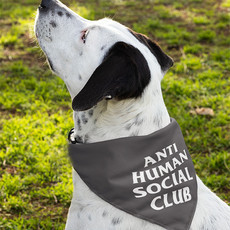 Bandana Pet Anti Human Social Club