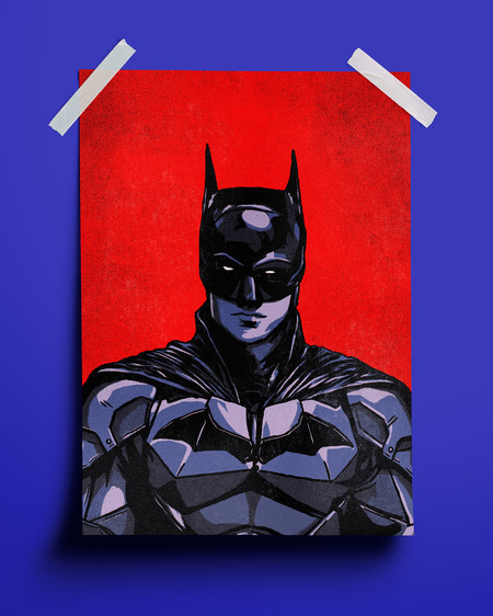 PRINT - THE BATMAN