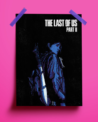 PRINT - THE LAST OF US P. II - ELLIE