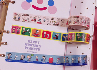 Washi Tape Snoopy - importada