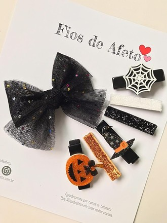 Kit de Prendedores Halloween