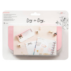 Disc Planner Punch Board with Adjustable Punches - Day to Day