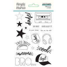 Stamps - Coleção Bro & Co - Simple Stories