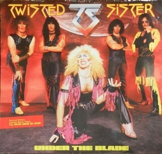 Twisted Sister - Under the Blade LP (capa com desgastes)