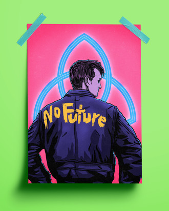 PRINT - DARK(NO FUTURE)