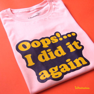 Camiseta Oops! [adulto]
