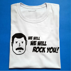 Camiseta We Will Rock You [adulto]