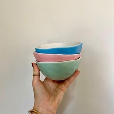 Trio bowls candy color