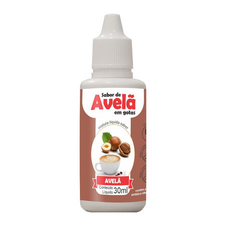 Queijoquinha gotas | Sabor AVELÃ (30ml) - Natural Science