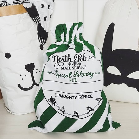 Sacão de presentes do Papai Noel