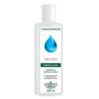 Condicionador pH Neutro (300ml) - Flores & Vegetais
