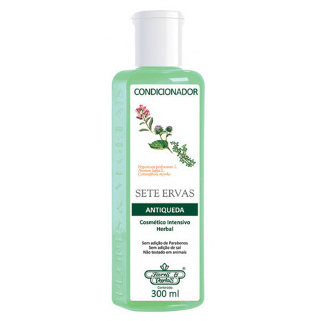 Condicionador Antiqueda Sete Ervas (300ml)- Flores & Vegetais