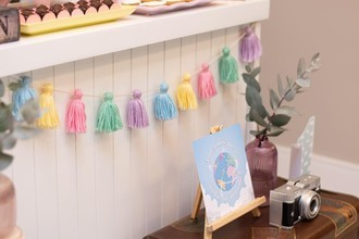 VARAL TASSEL DE LÃ CANDY COLOR - DECO84
