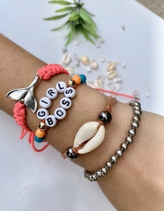 Kit de Pulseira Girl Boss