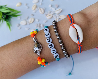 Kit de Pulseira Summer