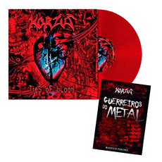 KIT Vinil Ties of Blood + Livro Guerreiros do Metal