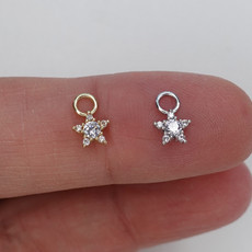 Pingente Star Ouro 18k