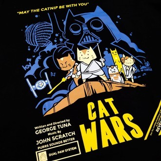 CAMISETA CAT WARS