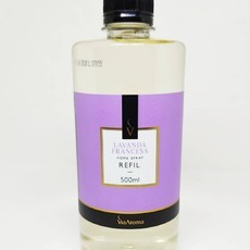 Refil Home Spray Lavanda Francesa Via Aroma 500ML