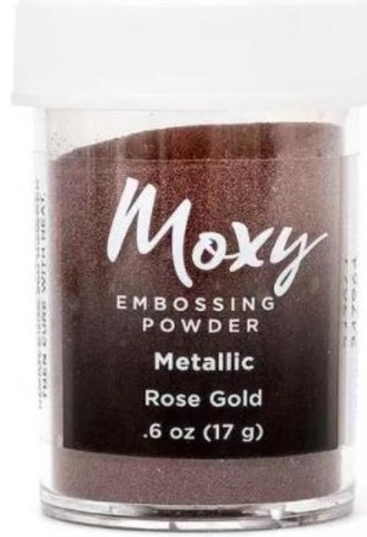 EMBOSSING POWDER - PÓ PARA EMBOSS MOXY - ROSE GOLD