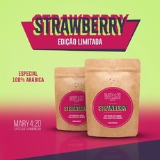 CAFÉ MARY4:20® STRAWBERRY - ED. LIMITADA