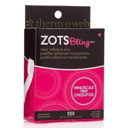 ZOTS - CLEAR ADHESIVE DOTS -  MINÚSCULO