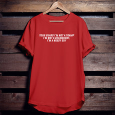 Camiseta Your guard I´m not a tramp