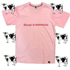CAMISETA ALLERGIC TO BOLSOMINION