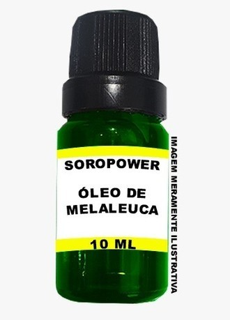 ÓLEO DE MELALEUCA ESSENCIAL 10 ML 100% PURO 100% NATURAL SOROPOWER