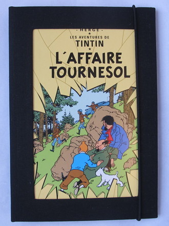 Capa Kindle Tintin L'Affaire Tournesol (Caso Girassol)